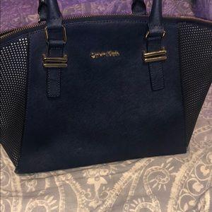 Navy Calvin Klein purse